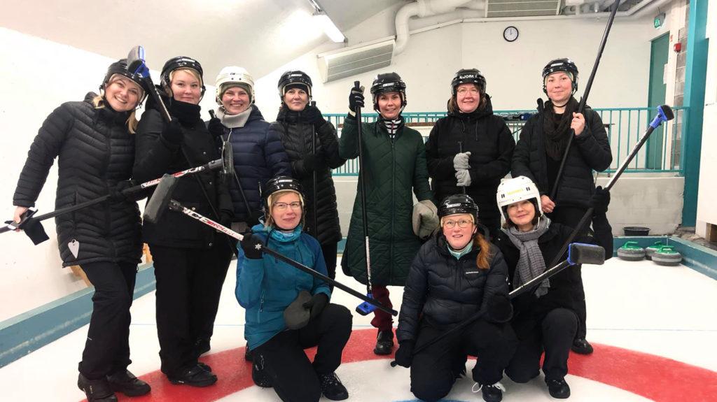 Metsolan Palvelukeskuksen Curling-joukkue
