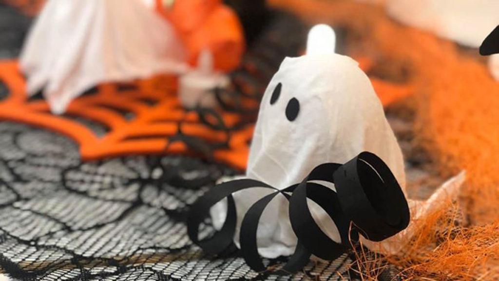 Metsolan Palvelukeskuksen Halloweenkoristeita