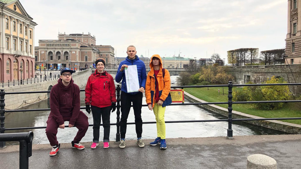 Sampolan asukkaat Tukholmassa