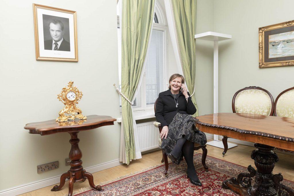 Johtaja Anne Puonti